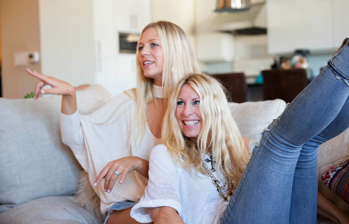 Live Pure founders Tiffany and Mary